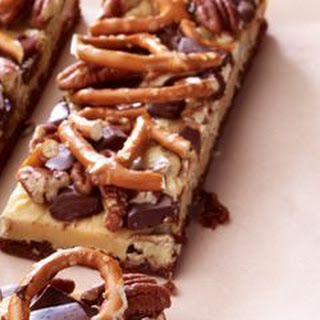 Chewy Brownie Turtle Bars