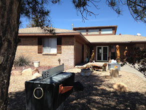 Photo: My airbnb home for the week in Albuquerque NM.