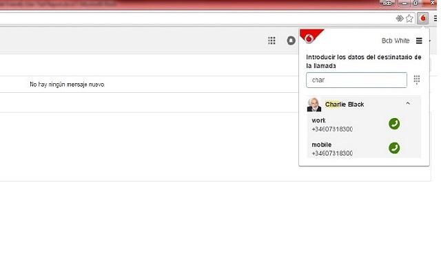 Vodafone Chrome Extension