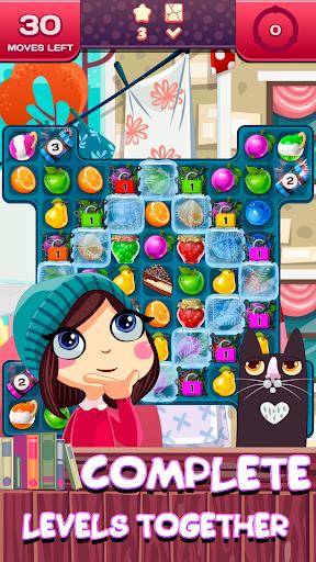 Match 3 Saga - Fruits Crush Adventure 1.0.2 screenshots 2
