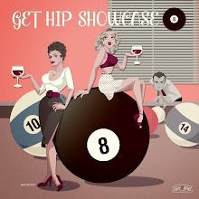Photo: CD jacket desgin GET HIP SHOWCASE 8 GET HIP RECORDS 2014