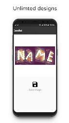 Photo Designer - Write your name with shapes APK screenshot thumbnail 4