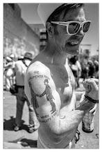 Photo: 2014 Coney Island Mermaid Parade - 2 www.leannestaples.com #coneyisland #mermaidparade #newyorkcity #streetphotography