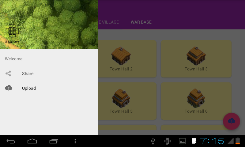 Base finder for Clash of clan- screenshot