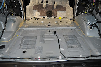 Photo: Bare after rear interior removed
