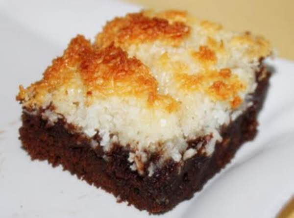 Coconut Macaroon Brownies Recipe