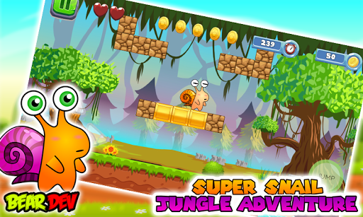 Super Snail Jungle Adventure 2.1 screenshots 2