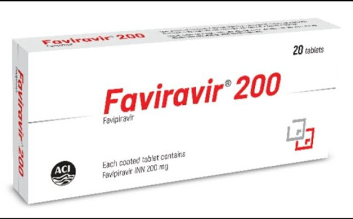Favipiravir Faviravir 200mg