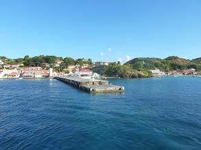 Photo: embarcadère terre de Haut Les Saintes