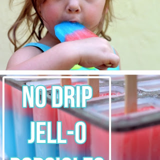 Jell-O Popsicle.