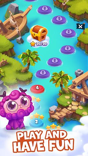 Pirate Treasures - Gems Puzzle captures d'u00e9cran 1