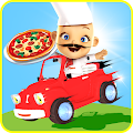 Racing Pizza Delivery Baby Boy 1.0 icon