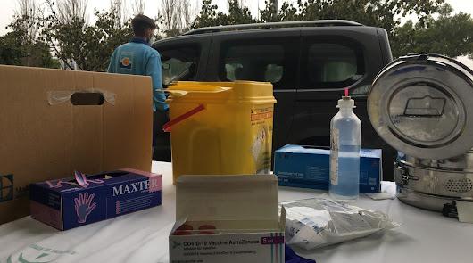 Imagen de archivo del proceso de vacunación llevado a cabo en Almería.