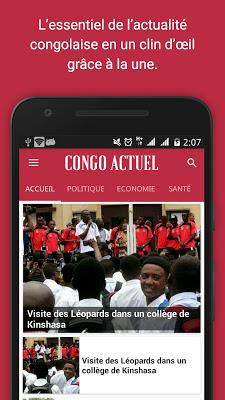 Congo actuel - screenshot