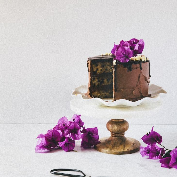 Triple Chocolate Banana Cake