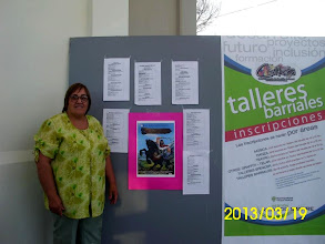 """Photo: Aida Iglesias y Victor Leali con """"La Tierra Habla"""""""
