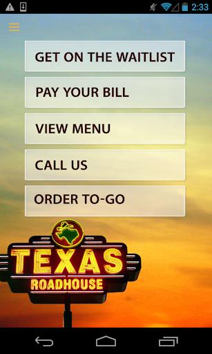 Texas Roadhouse Mobile  screenshots 1