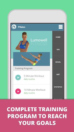 Pilates - Lumowell screenshot 1
