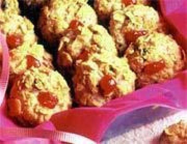 Cherry Dot Cookies Recipe