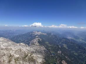 Photo: Zuerst die direkte Linie versucht (von der Taublitz in Richtung Schrocken), danach aber doch auf die südlich vorgelagerte Hügelkette gesprungen.