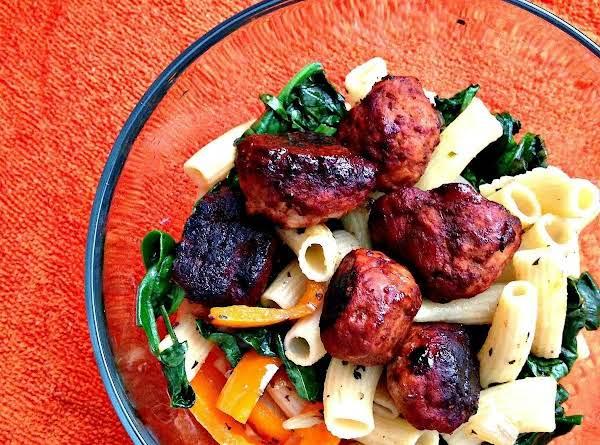 Rigatoni With Turkey Meatballs Recipe