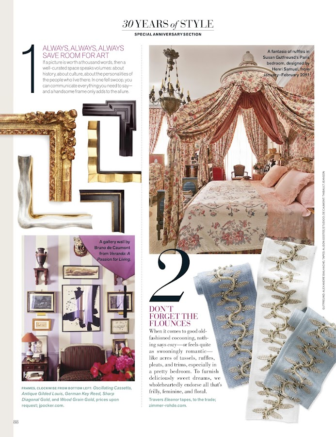 Veranda Magazine- screenshot