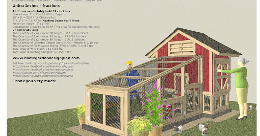 S110 - Chicken Coop Plans Construction - Chicken Coop Design - How To Build A Chicken Coop _ 0718