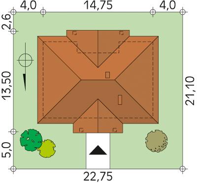 Borówka 2 CE - Sytuacja