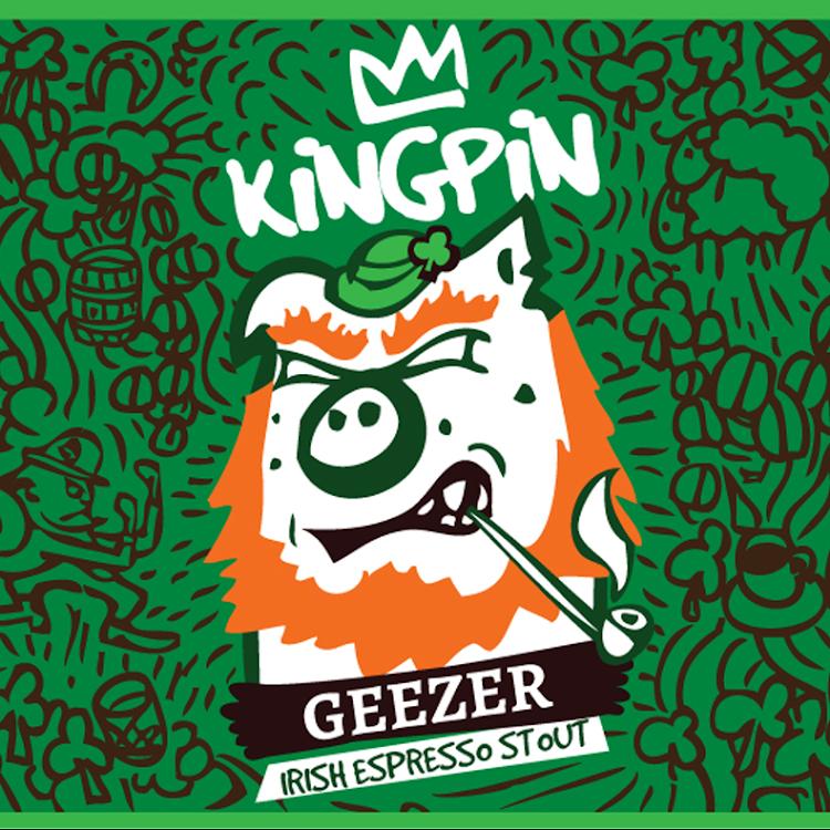 Logo of Kingpin Geezer