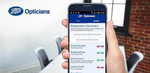 385127dd7bd7f Eye Test by Boots Opticians - Apps on Google Play