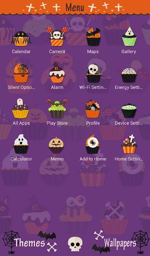 Halloween Cupcakes  Theme screenshot
