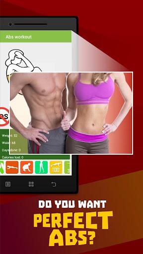 Abs workout Screenshot