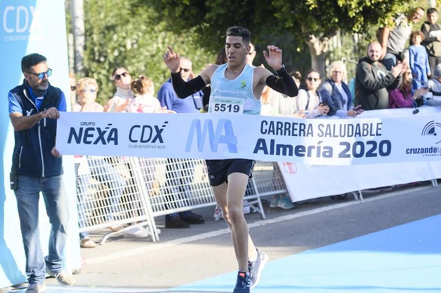 El ganador de los 9 kms.