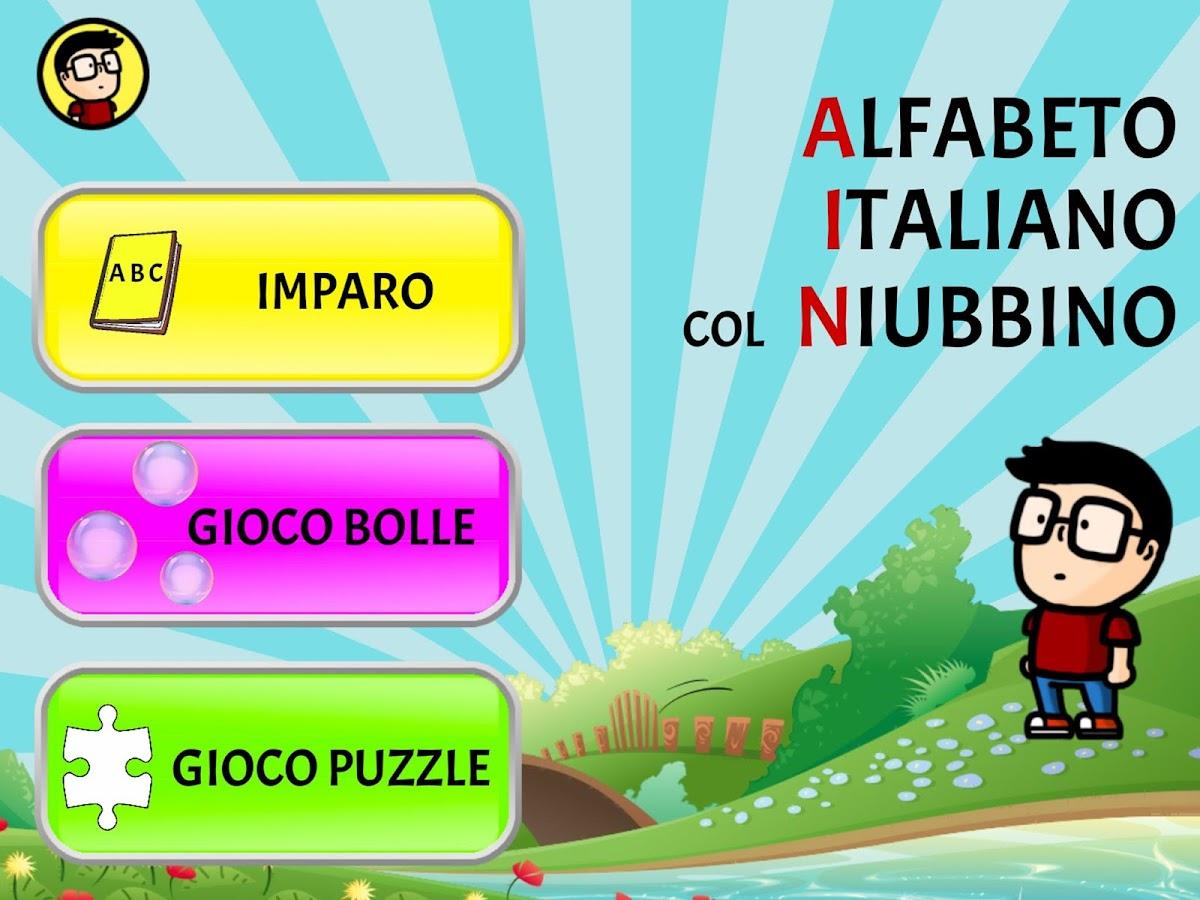 spesso Impara l'Alfabeto Italiano col Niubbino - App Android su Google Play YZ45