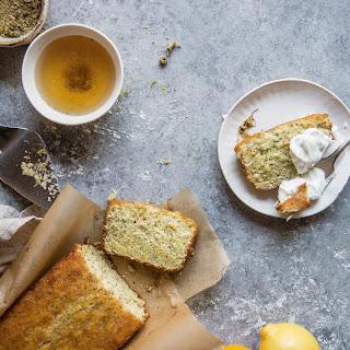 Chamomile Lemon Poppyseed Loaf Cake