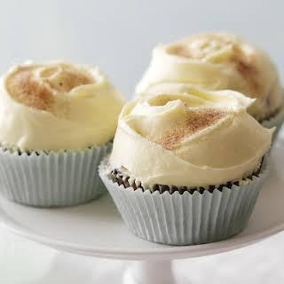 Cinnamon Swirl Cupcakes.