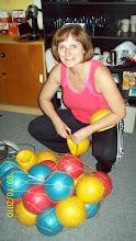 Photo: Jana se svými overbally