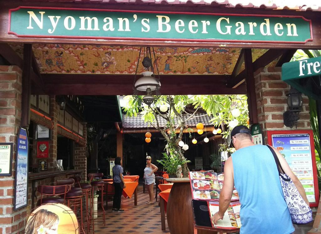 Nyoman's Beer Garden Restaurant Nusa Dua
