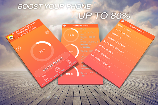 Phone Ram Cleaner Booster 360
