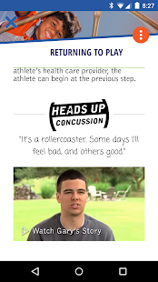 CDC HEADS UP Concussion Safety- screenshot thumbnail