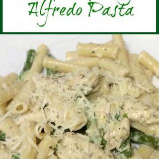 Chicken Asparagus Alfredo