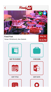 HowdyDo - Events, Groups, Chat- screenshot thumbnail