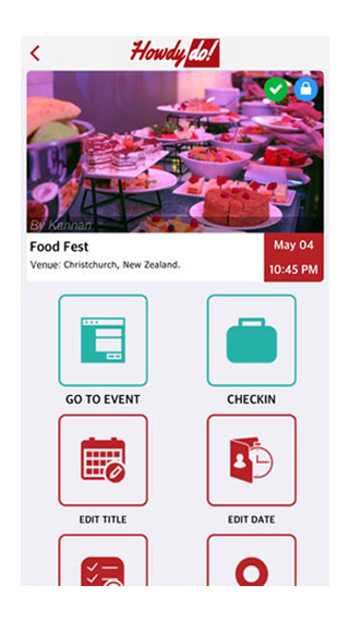 HowdyDo - Events, Groups, Chat- screenshot