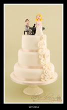 Photo: Love Song Wedding Cake by T-Cakes  (4/8/2012) View cake details here: http://cakesdecor.com/cakes/11332
