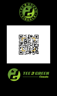 Tee 2 Green QR Reader- screenshot thumbnail