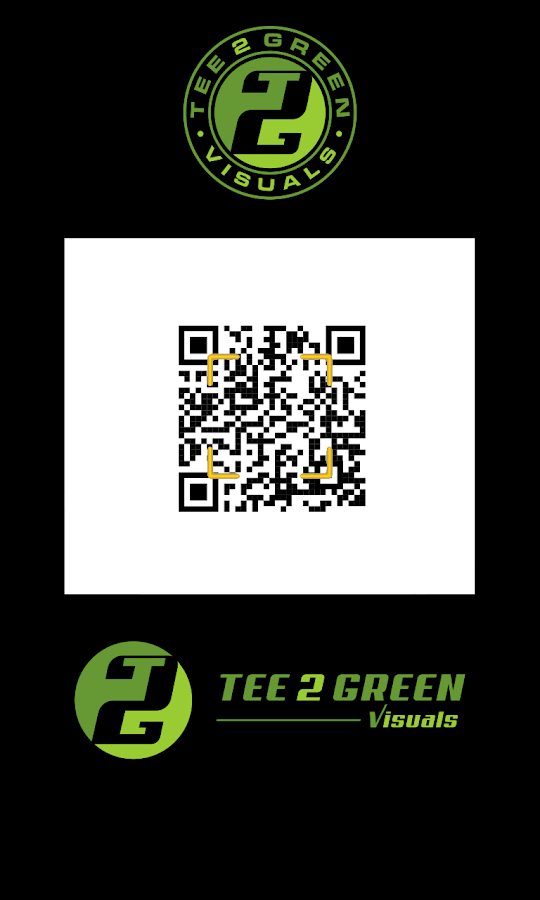 Tee 2 Green QR Reader- screenshot