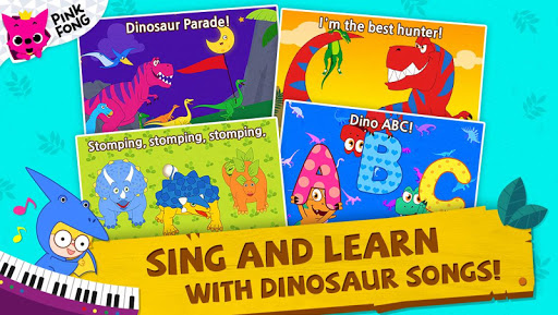 PINKFONG Dino World  screenshots 2