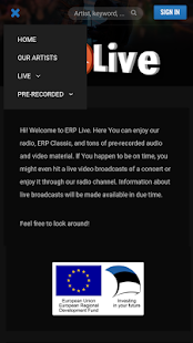 ERP Live- screenshot thumbnail