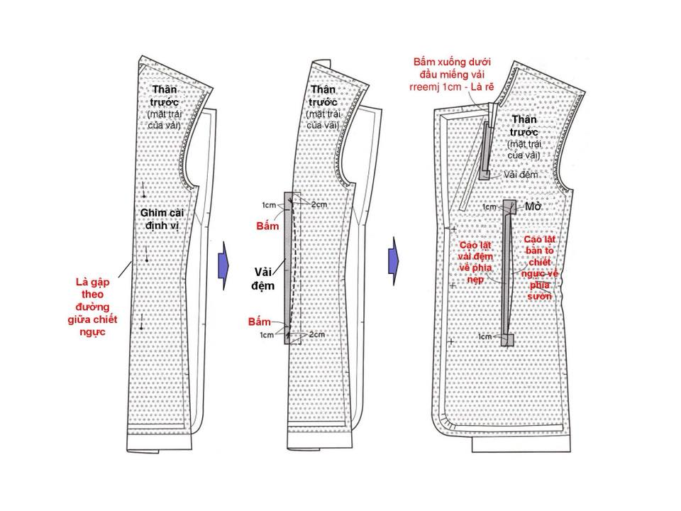 Bảng Size Thông Số Chuẩn Áo VEST NAM-NỮ Và Hướng Dẫn Cách Ráp Áo VEST 7