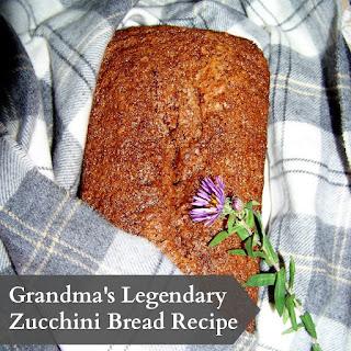 Grandma's Legendary Zucchini Bread